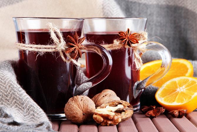 Глинтвейн с медом и кардамоном