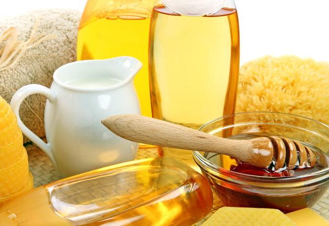 Маска для волос из репейного масла и мёда