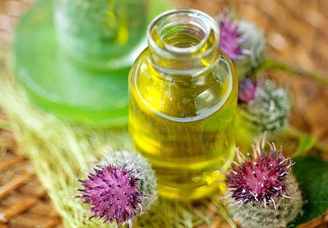 Маски с репейным маслом и медом для волос
