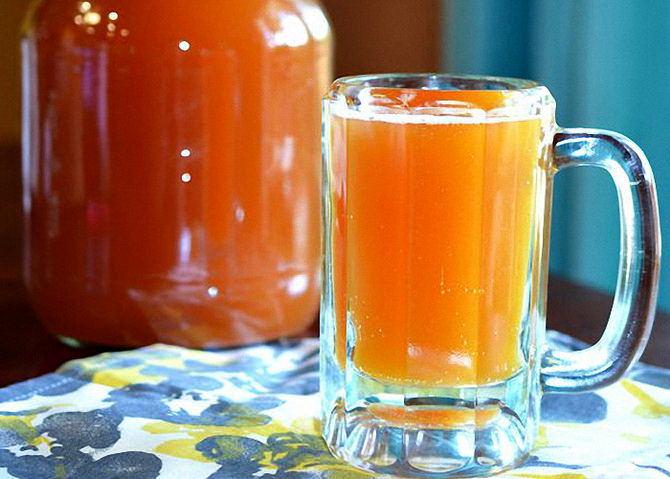 Как сделать квас с медом