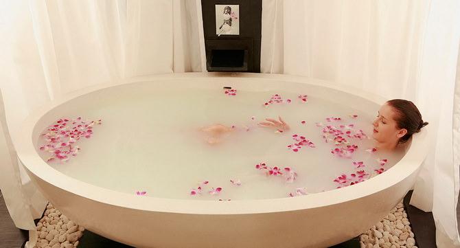 Молочно-медовая ванна
