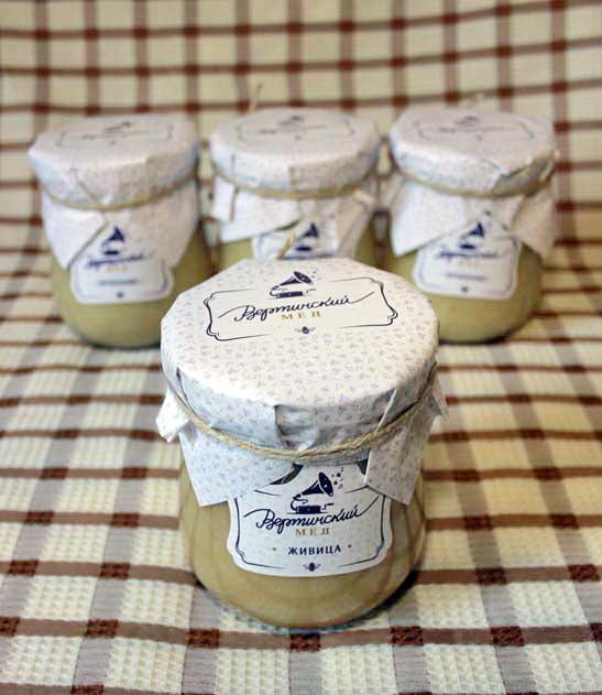 Мёд с живицей кедровой