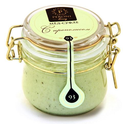 Зеленый крем мед с прополисом