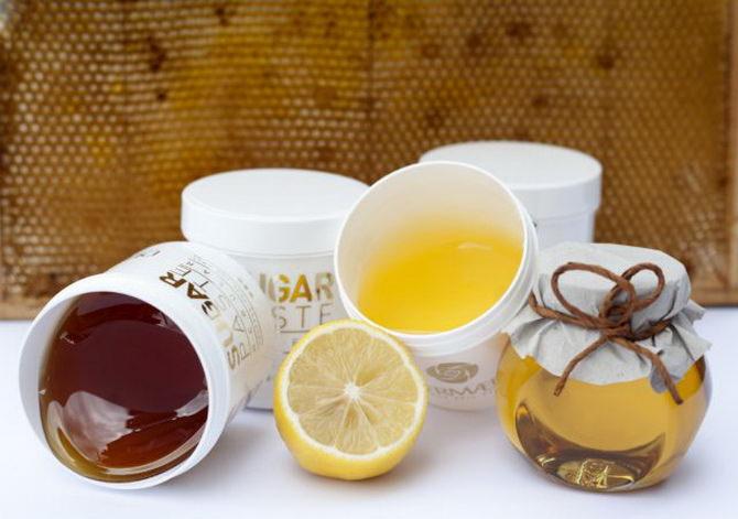 Паста для шугаринга с медом