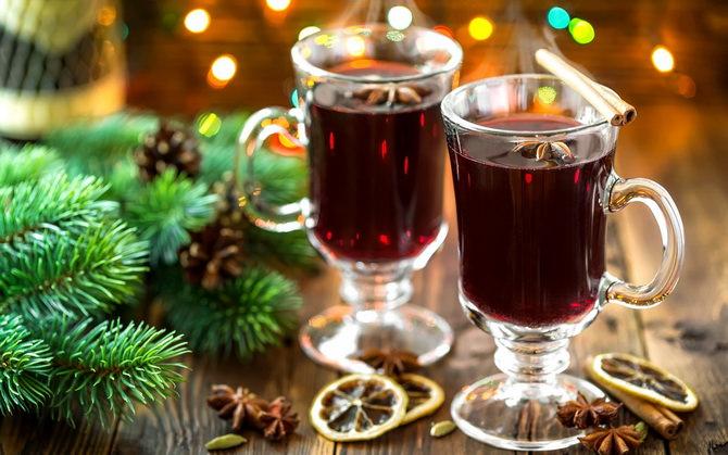 Глинтвейн рождественский