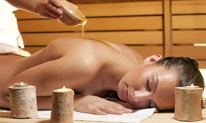Мед в бане для похудения
