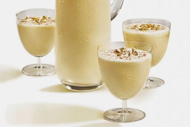Медово-молочный коктейль