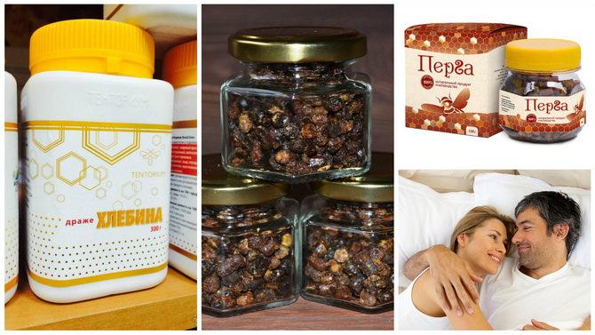 Перга для мужчин: полезные свойства и применение пчелиной перги