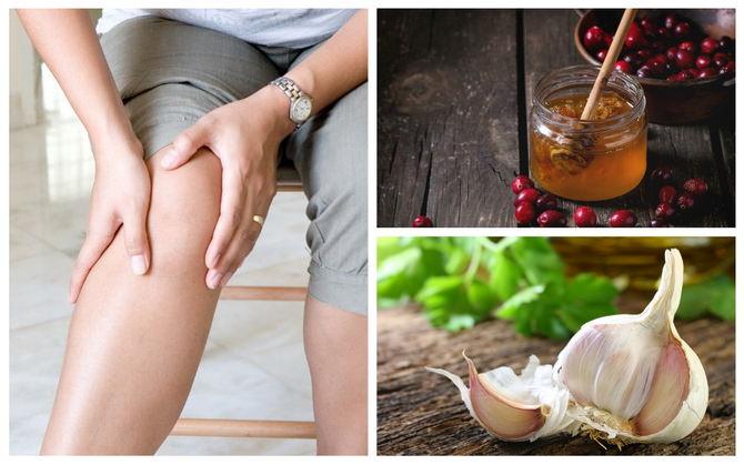 Рецепт калина с чесноком и медом для лечения суставов артрит боли в суставах при включенных электроприборах