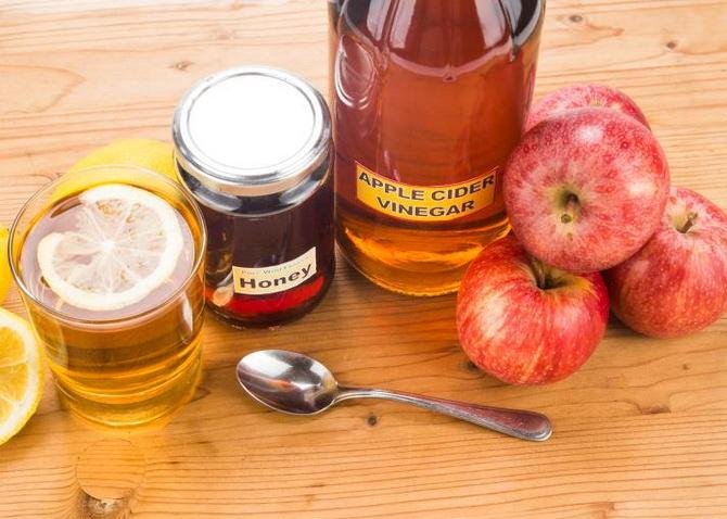 Мед с уксусом для похудения меню, отзывы.