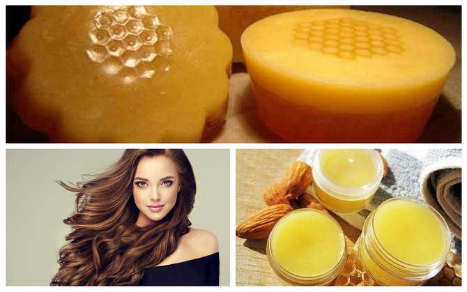Маски для волос с пчелиным воском