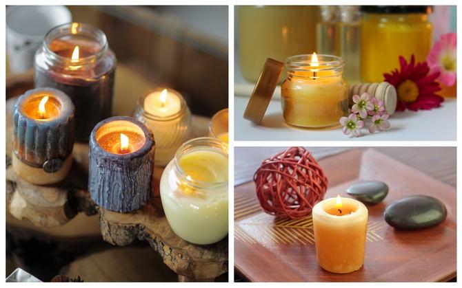 Как сделать восковую свечу в домашних условиях фото 577