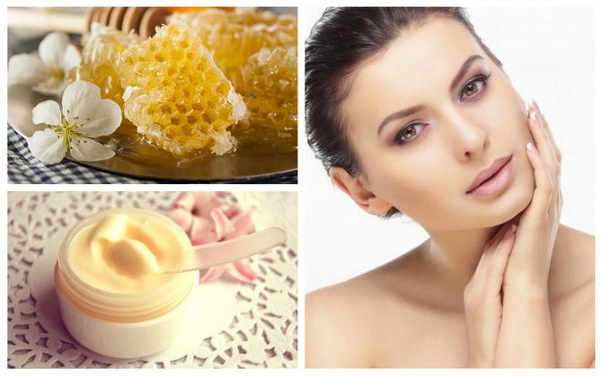 Крем из пчелиного воска для лица