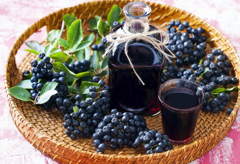 Сок из черноплодки